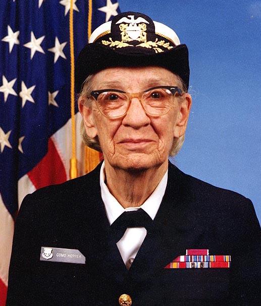 Grace_Hopper, fot. James S. Davis Naval History and Heritage Command, Wikipedia